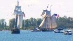 CTV Toronto: Tall ships sail into Toronto harbour