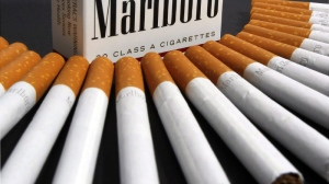 Marlboro cigarettes are displayed in Montpelier, Vt. (AP /Toby Talbot)