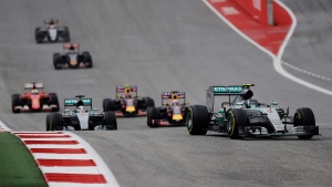 The Formula One U.S. Grand Prix at the Circuit of the Americas, on Oct. 25, 2015. (Eric Gay / AP)
