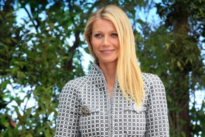 In this Jan. 26, 2016, file photo, actress Gwyneth Paltrow poses for photographers before Chanel's Spring-Summer 2016 Haute Couture fashion collection in Paris. (Thibault Camus / AP Photo)