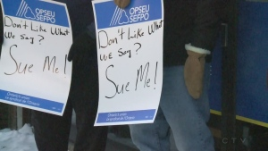 CTV Northern Ontario: Lunch hour rally