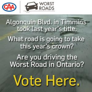 CAA Worst Roads Rail