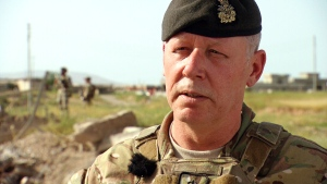 Gen. Jonathan Vance speaks to CTV Chief Anchor and Senior Editor Lisa LaFlamme in northern Iraq.