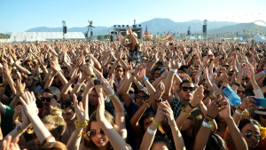 The crowd is seen at Coachella Valley Music and Arts Festival at the Empire Polo Club in Indio, Calif. in this photo from 2013. (John Shearer / Invision)