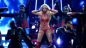 Britney Spears performs at the Billboard Music Awards at the T-Mobile Arena on Sunday, May 22, 2016, in Las Vegas. (Photo by Chris Pizzello/Invision/AP)