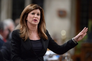 Interim Conservative Leader Rona Ambrose asks a question during Question Period in the House of Commons on Parliament Hill in Ottawa on Wednesday, May 18, 2016. (THE CANADIAN PRESS/Adrian Wyld)