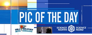 Sci. North Wild Weather Banner
