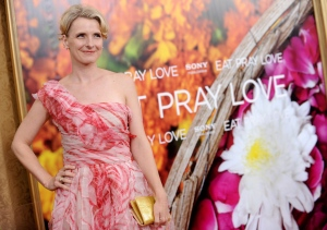 In this Aug. 10, 2010 file photo, author Elizabeth Gilbert attends the the world premiere of 'Eat, Pray, Love' at the Ziegfeld Theatre in New York. (AP / Evan Agostini)