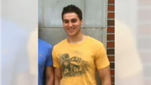 Authorities say 19-year-old Austin Harrouff was found chewing off a part of Stevens' face.