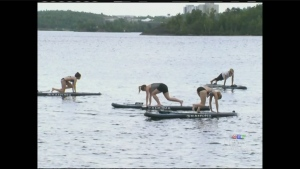 CTV Northern Ontario: Calming classes on the water