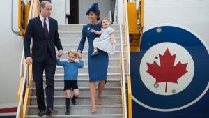Duke and Duchess arrive in Canada