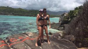 Annie Korkki, 37, and Robin Korkki, 42, are seen in this photo posted to Annie's Facebook account on Sept. 19, 2016. (Annie Korkki / Facebook)