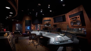 This undated photo provided by Paisley Park/NPG Records shows Prince's recording Studio A at Paisley Park in Chanhassen, Minn.  (Paisley Park / NPG Records)