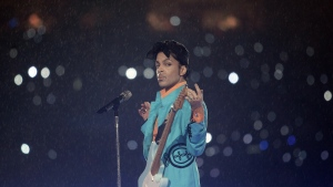 """An entire second album by Prince to accompany """"Purple Rain"""" is to be released posthumously. (AFP PHOTO/JEFF HAYNES)"""