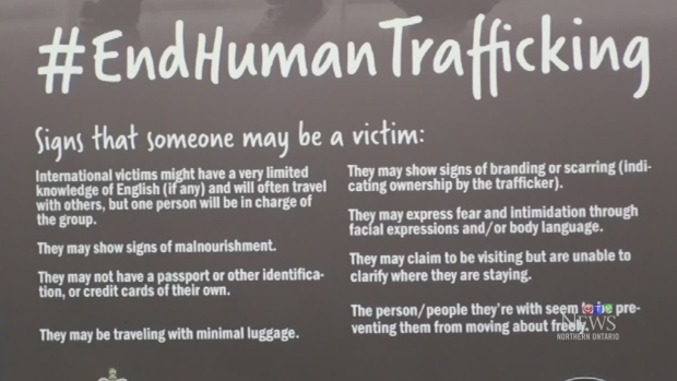 Timmins Police take on human trafficking