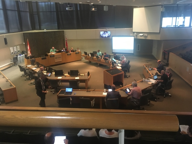 City of Greater Sudbury council chambers