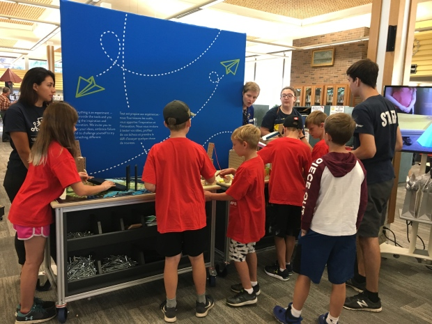 Exhibits will focus on STEM fields