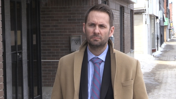 Timmins criminal defence lawyer William VanBridger