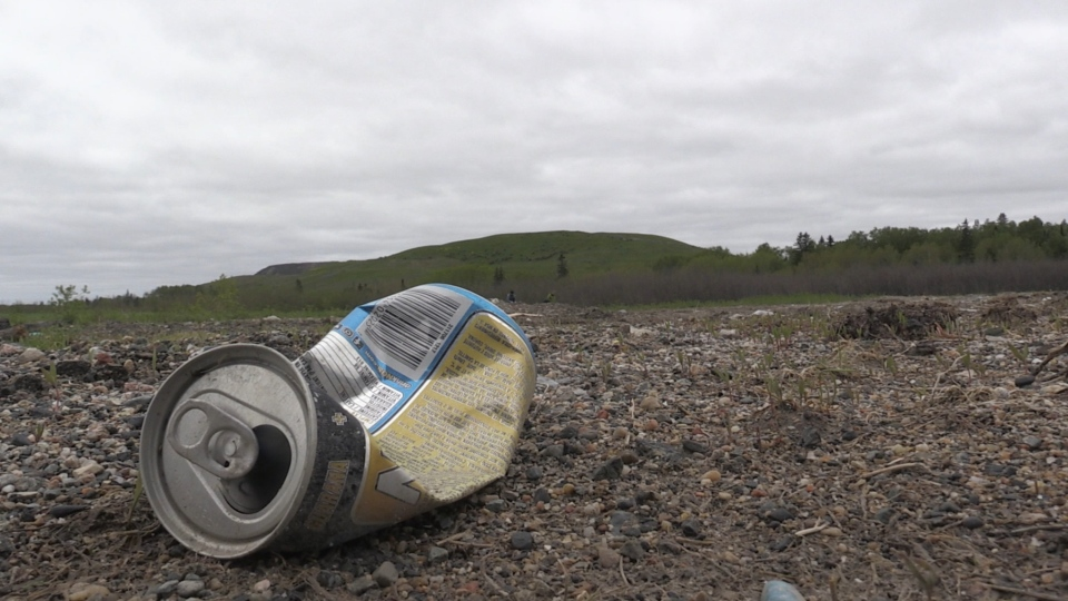 Litter in Timmins
