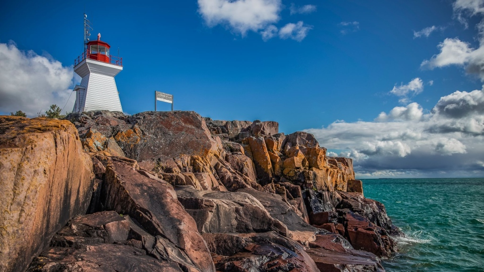 Lighthouse in Killarney, Ont.