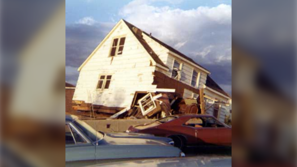 Prowse family home destroyed by Sudbury tornado