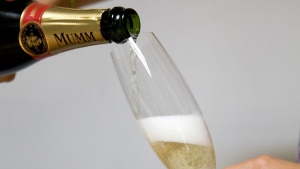 Champagne is one of the gifts given by embassies to cabinet ministers, according newly released records. (ASSOCIATED PRESS / Jacques Brinon)